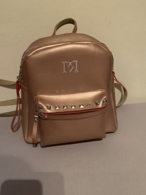 Backpack multicolored leather