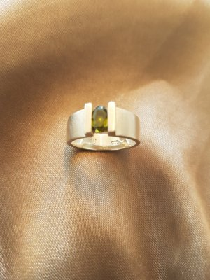 moderner Ring 925er Silber, 16mm