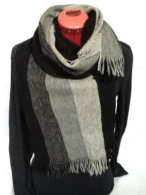 Moderner Schurwolle- Schal