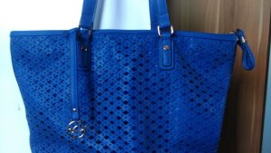 Carpisa Shopper blauw Polyester