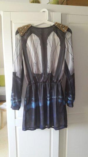 Modernes Kleid in schönen Farben Gr. S/M