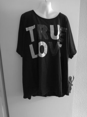 Modernes schwarzes T-Shirt