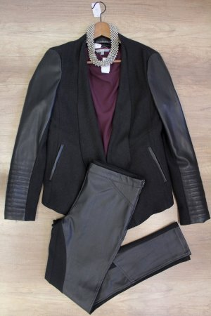 Modernes Second Hand Businessoutfit in lila Größe M OUT1261