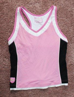 Modernes Sport Top in pink