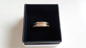Modeschmuck 2 goldfarbene Ringe