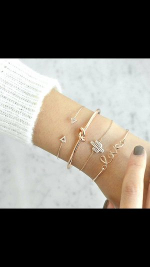 Modeschmuck armband set neu