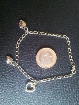 Modeschmuck Bettlerarmband Herze Armband