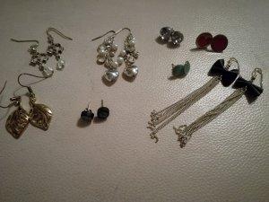 Modeschmuck, diverse Ohrringe