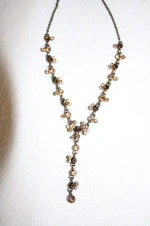 Collana marrone chiaro-beige