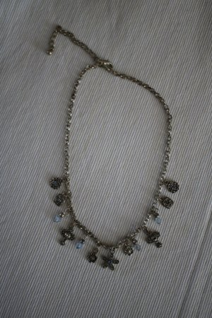 Collana argento-azzurro