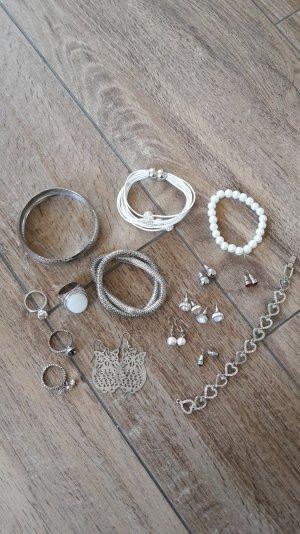 Modeschmuck in Silber