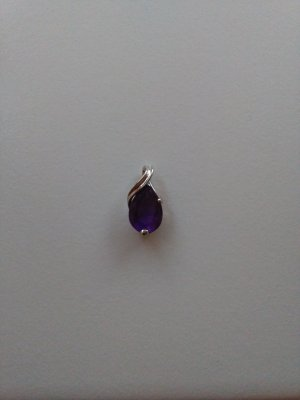 Pendente argento-viola scuro