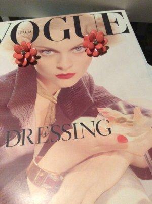 Modeschmuck - Ohrringe im Blumendesign
