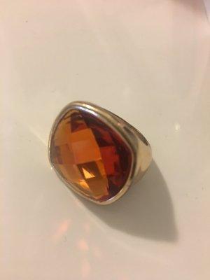 Modeschmuck Ring mit großem Stein