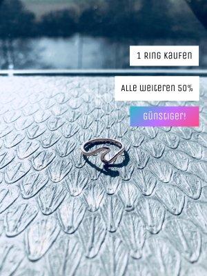 Modeschmuck Roségold Ring Welle minimalistisch boho urban elegant Ozean Wave Ocean Meer