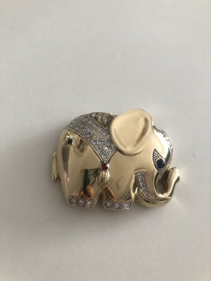 Pierre Lang Broche goud-zilver