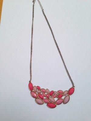 Modeschmuckkette pink