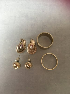 Modeschmuckset in Gold