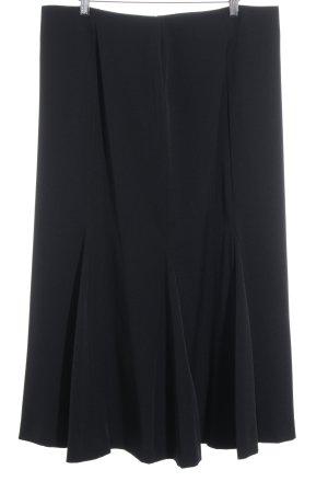 Modeszene Midirock schwarz Elegant
