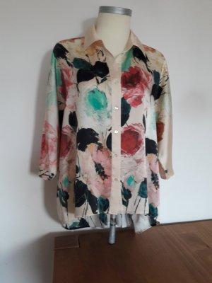Modische Bluse aus Seide, Gr. 40 von,   pom-pom