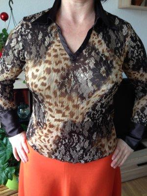 Modische Bluse mit atlas Cuff