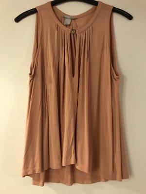 Modische Bluse mit mit metallischem Akzent
