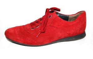 modische Damen Schnürschuhe - rot von Paul Green Gr. 37