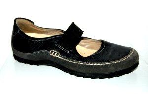 modische Damen Slipper - Sneaker - schwarz von Wolky Gr. 39