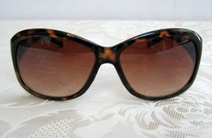 Butterfly Glasses brown synthetic material