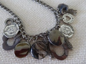 Necklace anthracite others