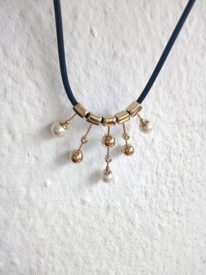 Modische Halskette gold farben