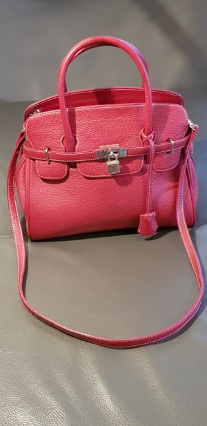Carry Bag red leather