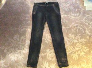 Modische Jeans mit Rose Gold Druck der Firma Summum