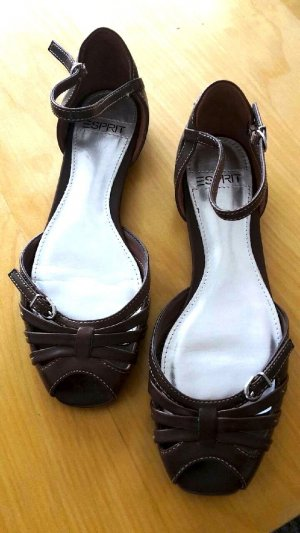 modische Peeptoe Sandalen