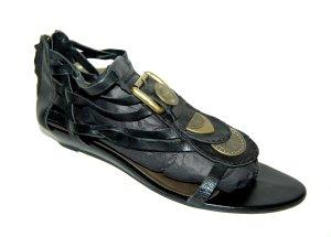 modische Riemchen Sandalette in schwarz - von Tamaris Gr. 41