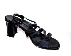 modische  Riemchen  Sandalette - schwarz von Paul Green - Gr. 40