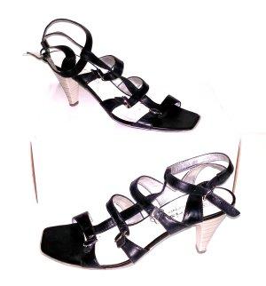 modische Riemchen Sandalette - schwarz von Tamaris - Gr. 40