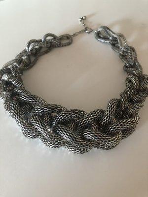 Modische Silberkette von Hallhuber