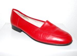 modische Slipper - Ballerina - rot von Gabor Gr. 41