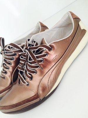 Alexander McQueen Sneakers brons-beige Leer