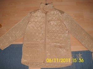 Veste matelassée brun sable-doré