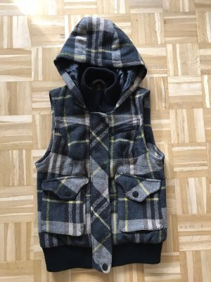 Only Hooded Vest multicolored