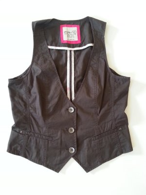 Esprit Denim Vest multicolored