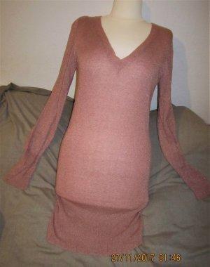 Tally Weijl Jersey largo color rosa dorado tejido mezclado