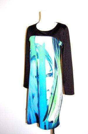 modisches - Etuikleid - Cocktailkleid - Shirtkleid von Milano - Gr. 38
