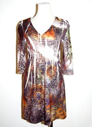 modisches Feinstrickkleid - bunt von Malvin Gr. S