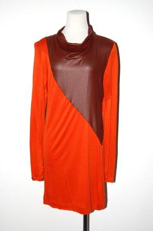 modisches Shirtkleid - Etuikleid - mit kleinen Rollkragen von Blacky Dress Gr.40