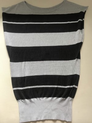 Hugo Boss Knitted Top black-silver-colored