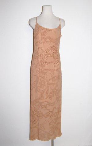 modisches Trägerkleid - Cocktailkleid - Maxikleid beige von Comma Gr. 38