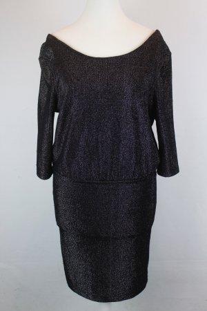 MODSTRÖM Kleid Gr. XS schwarz / silber (E/MF/SC)
